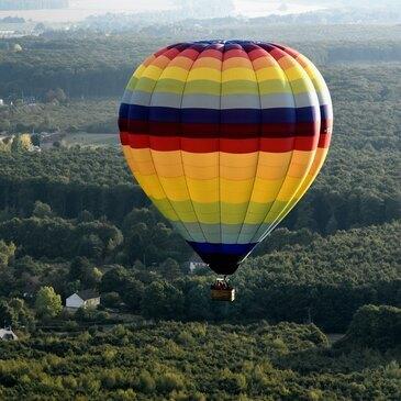 Baptême de l'air montgolfière, département Loiret