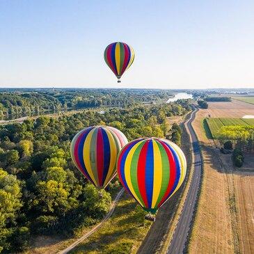Vol en Montgolfière - Château de Chaumont-sur-Loire