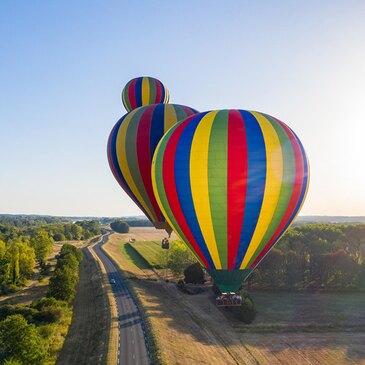 Vol en Montgolfière - Survol du Château de Chenonceau
