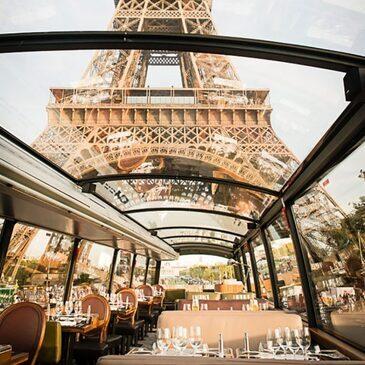 Dîner Gastronomique et Visite de Paris en Bus