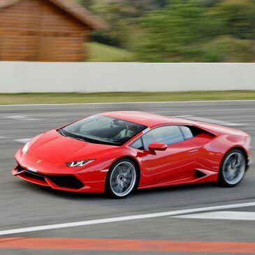 Baptême en Lamborghini Huracan - Circuit de Pau-Arnos