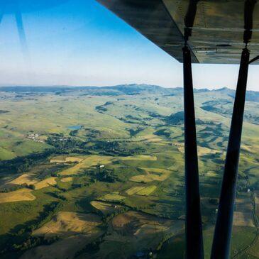 Vol en Patrouille en ULM Multiaxe à Valence