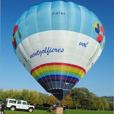 Baptême de l'air montgolfière, département Meurthe et moselle