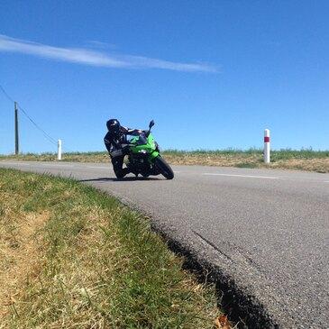 Coaching sur Route avec votre Moto près de Vienne