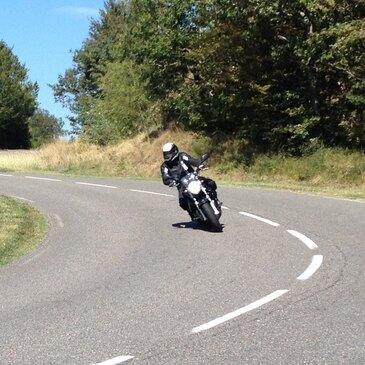 Stage de pilotage moto, département Isère