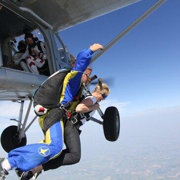 Saut en parachute, département Aisne