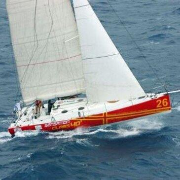 Weekend de Navigation Sportive en voilier à Cherbourg