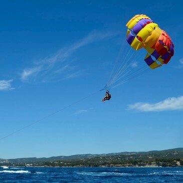 Parachute Ascensionnel à Saint-Cyr-sur-Mer