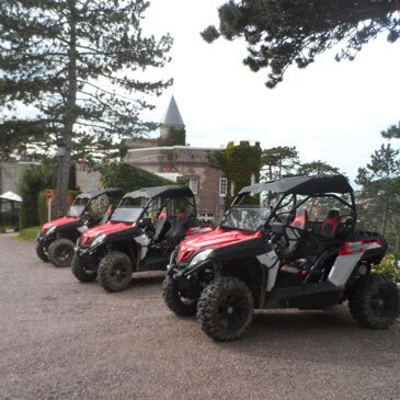 Week end Randonnée quad en région Haute-Normandie