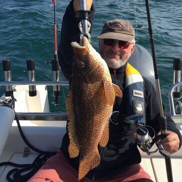 Pêche au gros proche Port du Crouesty