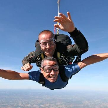 Saut en Parachute Tandem à Vichy
