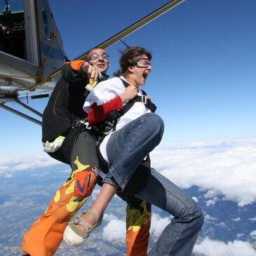 Saut en Parachute Tandem au Puy-en-Velay