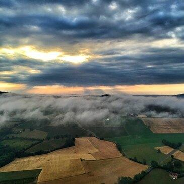 Aérodrome de Mâcon-Charnay, Saône et loire (71) - Baptême de l'air montgolfière