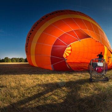 Réserver Baptême de l'air montgolfière département Saône et loire