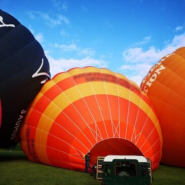 Baptême de l'air montgolfière, département Rhône