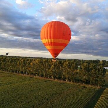 Baptême de l'air montgolfière en région Rhône-Alpes