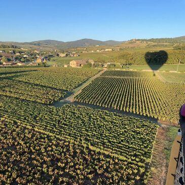Baptême de l'air montgolfière proche Aérodrome de Frontenas