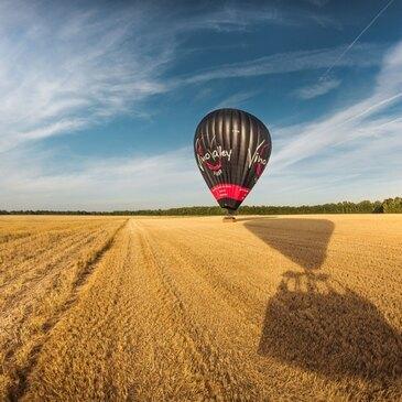 Châtillon-sur-Chalaronne, Ain (01) - Baptême de l'air montgolfière
