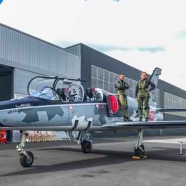 Vol avion de chasse proche Aérodrome de La Roche-sur-Yon