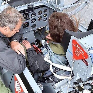 Réserver Vol avion de chasse département Isère