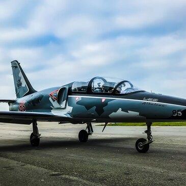 Vol avion de chasse, département Isère