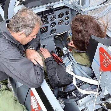 Vol avion de chasse proche Aéroport de Grenoble-Isère