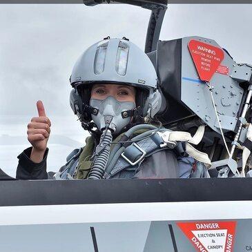 Vol avion de chasse, département Val d'oise