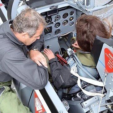 Aérodrome de Pontoise-Cormeilles, Val d'oise (95) - Vol avion de chasse