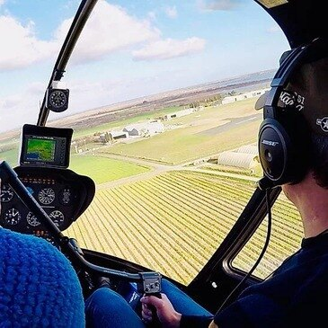 Stage initiation hélicoptère en région Languedoc-Roussillon