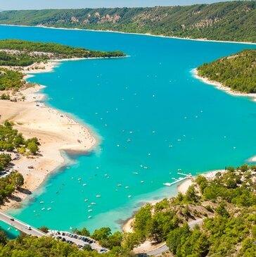 Lac de Sainte-Croix, Alpes de Haute Provence (04) - Pêche au gros