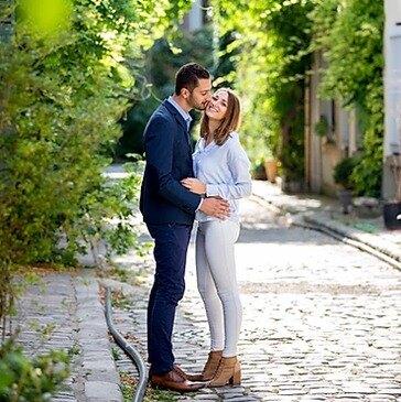 Séance Photo en Couple à Paris Belleville