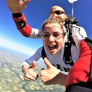 Saut en Parachute Tandem à Rodez
