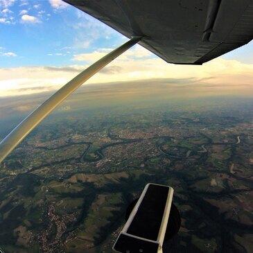 Aéroport de Rodez, Aveyron (12) - Saut en parachute