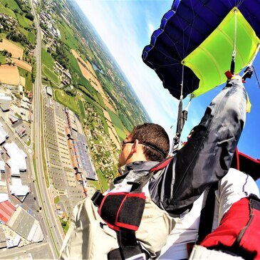 Saut en parachute proche Aéroport de Rodez