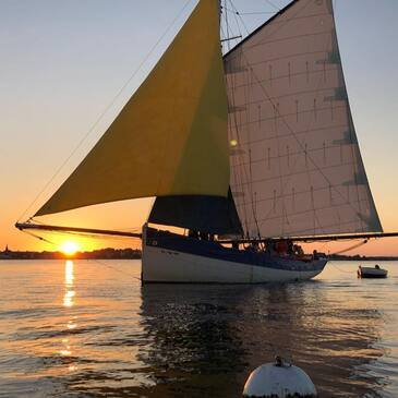 Balade en bateau, département Morbihan