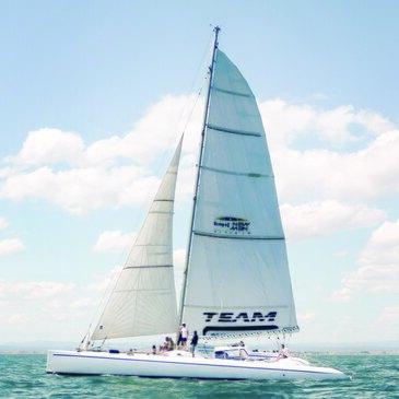 Sortie en Catamaran de Course à Port-Camargue