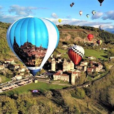 Vol en Montgolfière au Puy-en-Velay