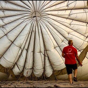 Baptême de l'air montgolfière, département Somme
