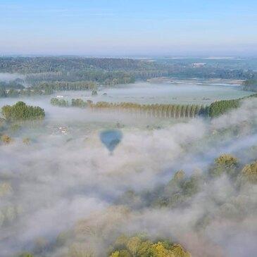Aérodrome d'Abbeville, Somme (80) - Baptême de l'air montgolfière