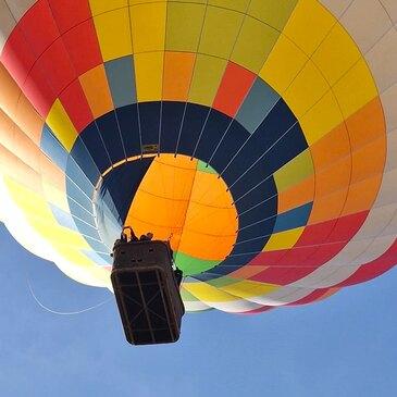Aérodrome de Saint-Quentin, Aisne (02) - Baptême de l'air montgolfière