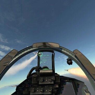 Simulateur d'Avion de Chasse près de Lyon