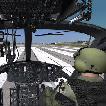 Simulateur d'Hélicoptère de Combat Légendaire à Annecy