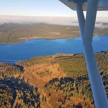Aérodrome de Mende, Lozère (48) - Baptême en ULM et Autogire