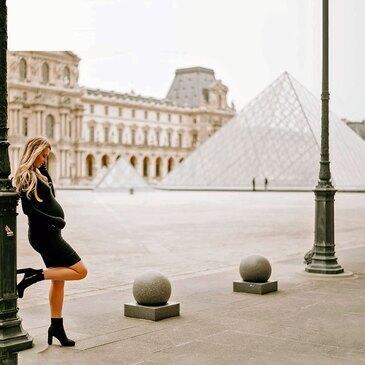 Shooting Photo de Grossesse à Paris Montparnasse