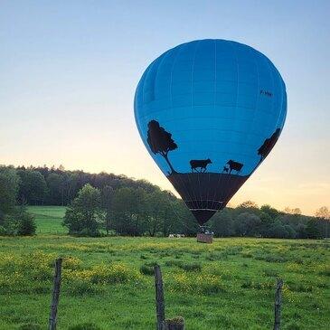 Baptême de l'air montgolfière, département Haut rhin