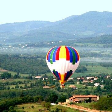 Baptême de l'air montgolfière, département Drôme