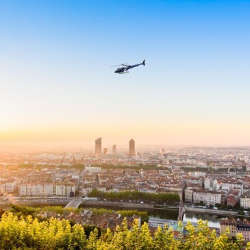 Baptême en Hélicoptère à Lyon - Les Monts d'Or