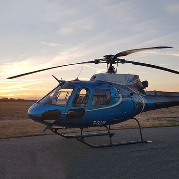 Baptême de l'air hélicoptère en région Rhône-Alpes