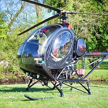 Initiation au Pilotage d'Hélicoptère à la Ferté-Alais