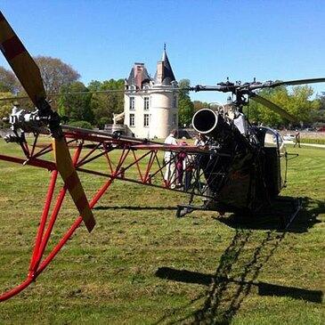 Stage initiation hélicoptère, département Essonne